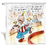 Joe Biden Circus Act Shower Curtain