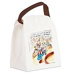 Joe Biden Circus Act Canvas Lunch Bag