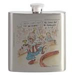 Joe Biden Circus Act Flask
