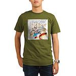 Joe Biden Circus Act Organic Men's T-Shirt (dark)