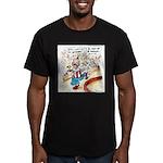 Joe Biden Circus Act Men's Fitted T-Shirt (dark)