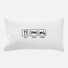 Eat Sleep Farm Pillow Case