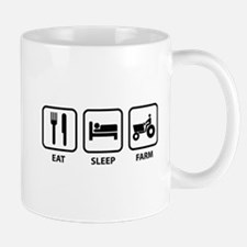 Eat Sleep Farm Mug
