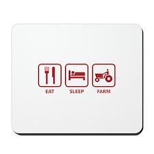 Eat Sleep Farm Mousepad