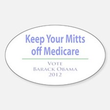 Keep Your Mitts off Medicare Decal
