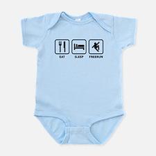 Eat Sleep Freerun Infant Bodysuit