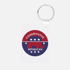 Conservative Republican (XL) Keychains