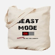 Beast Mode Workout Motivation Tote Bag