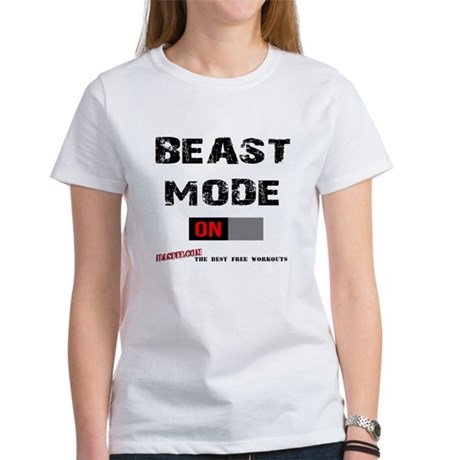 Beast Mode Women's T-Shirt White