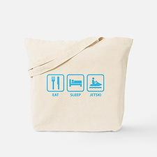 Eat Sleep Jetski Tote Bag