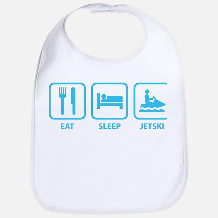 Eat Sleep Jetski Bib