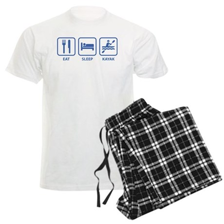 Eat Sleep Kayak Men's Light Pajamas