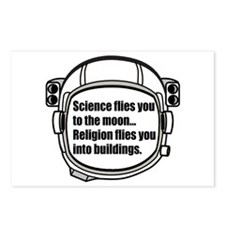Science flies you to the moon Postcards (Package o