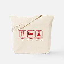 Eat Sleep Nurse Tote Bag