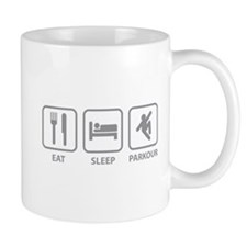 Eat Sleep Parkour Mug