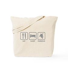 Eat Sleep Parkour Tote Bag