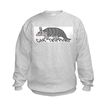 Car Tripping Kids Sweatshirt