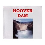 hoover dam Throw Blanket