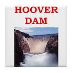 hoover dam Tile Coaster