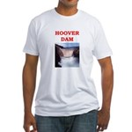 hoover dam Fitted T-Shirt