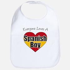 Everyone Loves Spanish Boy Bib