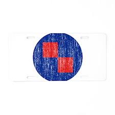Croatia Roundel Aged.png Aluminum License Plate