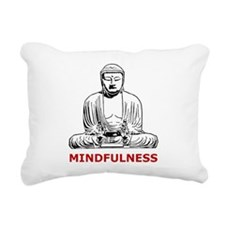 Mindfulness Rectangular Canvas Pillow