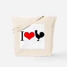 I love Cock Tote Bag