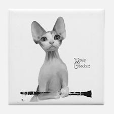 Benny Goodcat Tile Coaster