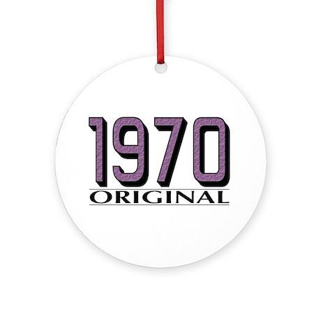 1970 Original Ornament (Round)