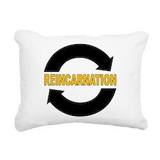 Reincarnation Rectangular Canvas Pillow