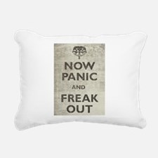 Unique Now panic and freak out Rectangular Canvas Pillow