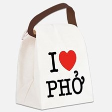 I Love (Heart) Pho Canvas Lunch Bag