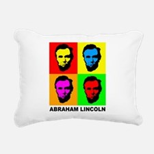 Abraham Lincoln Rectangular Canvas Pillow