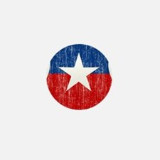 Chile Roundel Mini Button