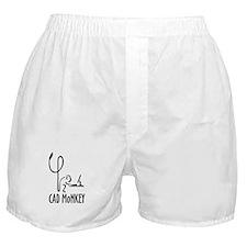 CAD Monkey Boxer Shorts
