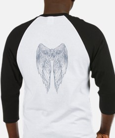 wings on back Baseball Jersey