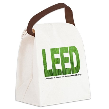 LEED TRANS Canvas Lunch Bag