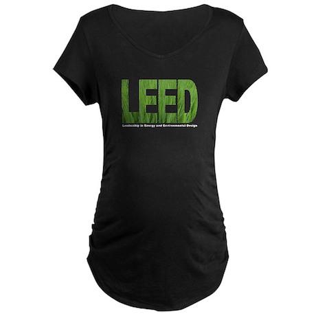 LEED TRANS Maternity Dark T-Shirt