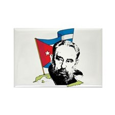 Fidel Castro Rectangle Magnet