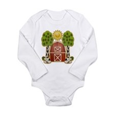 Chickens at Noon Long Sleeve Infant Bodysuit