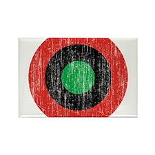 Biafra Roundel Rectangle Magnet