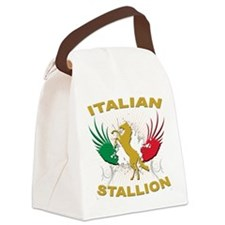 italian stallion.png Canvas Lunch Bag