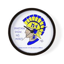 Spartan Mel -No Mercy! Wall Clock