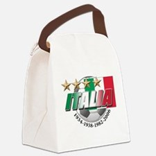italia soccer T-Shirt.png Canvas Lunch Bag