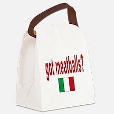 itt aint sauce(blk).png Canvas Lunch Bag