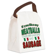 Meatballs.png Canvas Lunch Bag