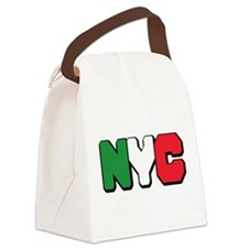 New York Italian pride Canvas Lunch Bag