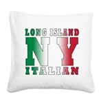 italian Long island T-Shirt.png Square Canvas Pill