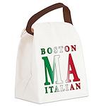 3-Boston Italian.png Canvas Lunch Bag